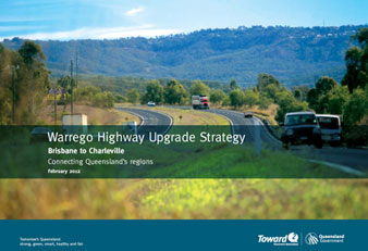 Front cover of the Warrego Highway Upgrade Strategy