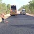 Sealing works on Peninsula Developmental Road