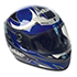 Photo of a motorcycle helmet